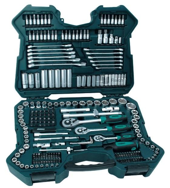 ხელსაწყოების ნაკრები MANNESMANN-ის 215 ცალიანი
