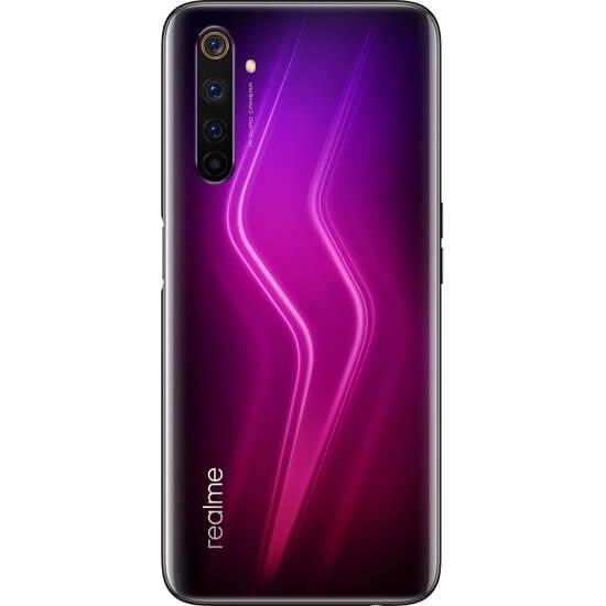 მობილური ტელეფონი Realme 6 Pro (8GB/128GB) Dual Sim LTE Red