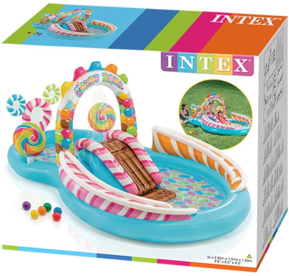 საბავშვო აუზი გასართობი ცენტრი INTEX 57149