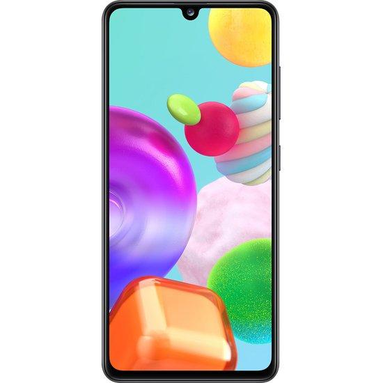 მობილური ტელეფონი Samsung A415F Galaxy A41 (4GB/64GB) LTE Duos - Black