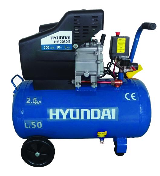 ჰაერის კომპრესორი HYUNDAI HK.HM2050B - 50 ლ