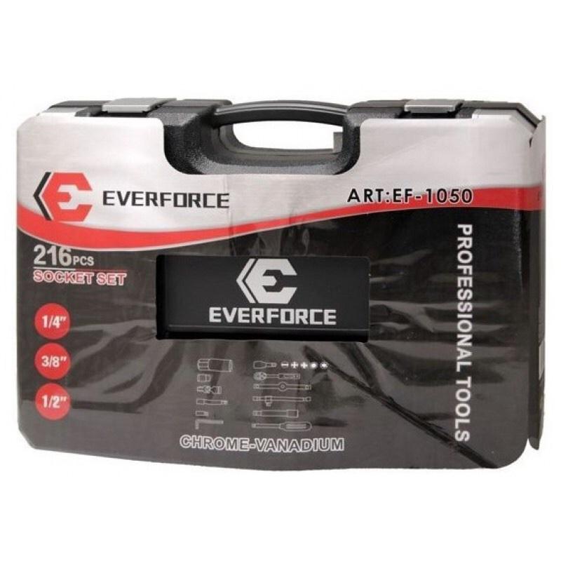 ხელსაწყოების ნაკრები EVERFORCE 216 PCS