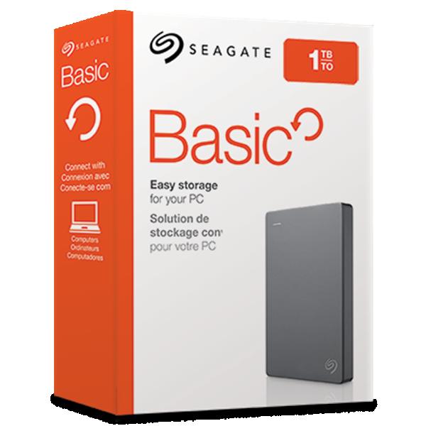 გარე მყარი დისკი SEAGATE BASIC 1TB (STJL1000400)